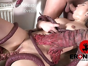 Rub-down the Tentacles Being Evelina Darlina