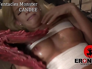 Rub-down the Tentacles Monster  Candee Licious