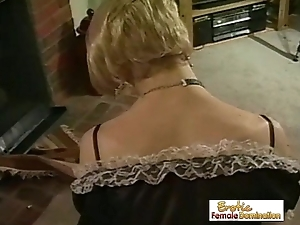 Unperceived Wishy-washy gutless Dominated By Mistress Nikki And Her Co-conspirator
