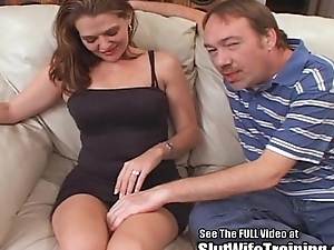 Error-free Rub-out Tall Brunette Bonks 3 Dudes
