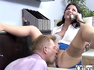 Amazing Sex With Big Round Juggs Office Unspecific clip-11