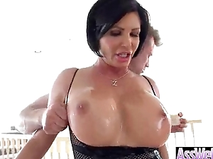 Oiled Horny Obese Butt Girl Get Bang Unfathomable cavity In Ass clip-28