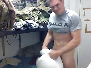 army brat cums in every direction over