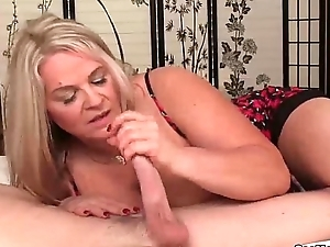 seemom-Busty milf loves juvenile cocks