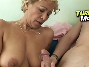 Rough anal bonking feat. big natural tits lalin girl lady Gitana