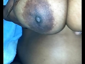 my wifes beautiful ebony tits