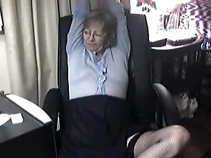 Lovely Granny with Glasses 6, Free Webcam Porn 41: from private-cam,net astonishing cute