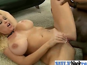 Hard Sex Action With Milf Fucked By Hard Long Black Dick clip-17