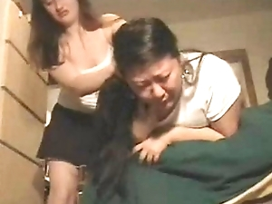 Girlfriends Bolt down Puke Puking Vomiting Gagging Barf