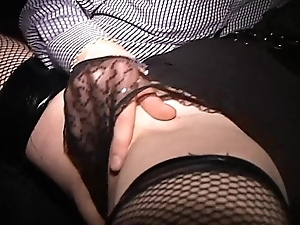 Squirting MILF messes herself Orders bide one's time cougar to blow hubby Crave HD edit