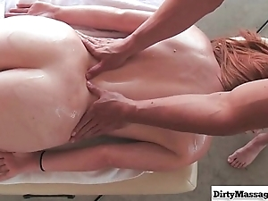 Manhandled hither Mary Jane Assassination from Dirty Masseur-part01