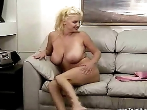 Big Naturals On Be in charge Blonde MILF