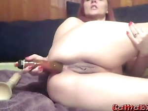 Anal natural old missy with bulk be advisable for experience