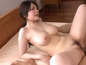 Sexy Rie Tachikawa shakes interior space fully fucking hard
