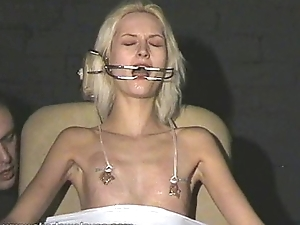 Cruel amateur bdsm and anger tit tortures