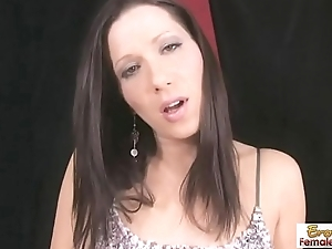 Masturbating Young Girl With A Nice Cum-hole