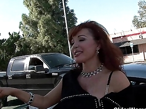 Ancient milf acquires picked almost from the parking lot and makes a porn movie