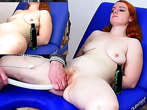 Miss Fi Takes a Huge Enema At hand the Hard Colon Spiral